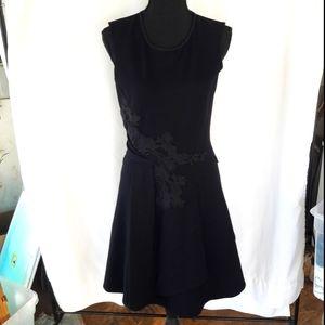 Kobi Halperin Black Sleeveless Knee Length Dress